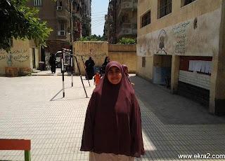 صورة لبنت مرسي