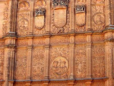 Portal de entrada da Universidade de Salamanca, Espanha