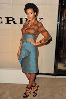 """Solange%2BBurberry1 Solange Knowles en total look Burberry pour le lancement du parfum """"Burberry Body"""""""