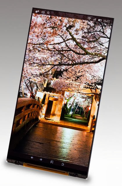 5.4-inch Smartphone Display