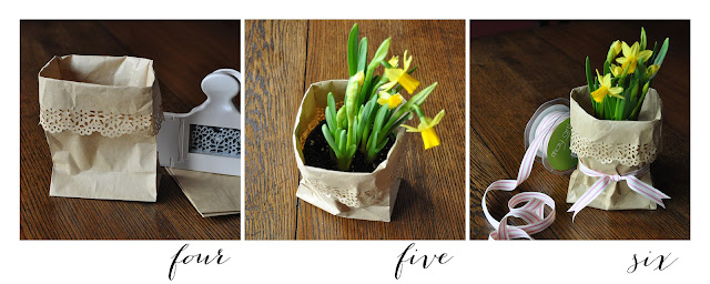 Creative Bag floral packaging tutorials using paper bags