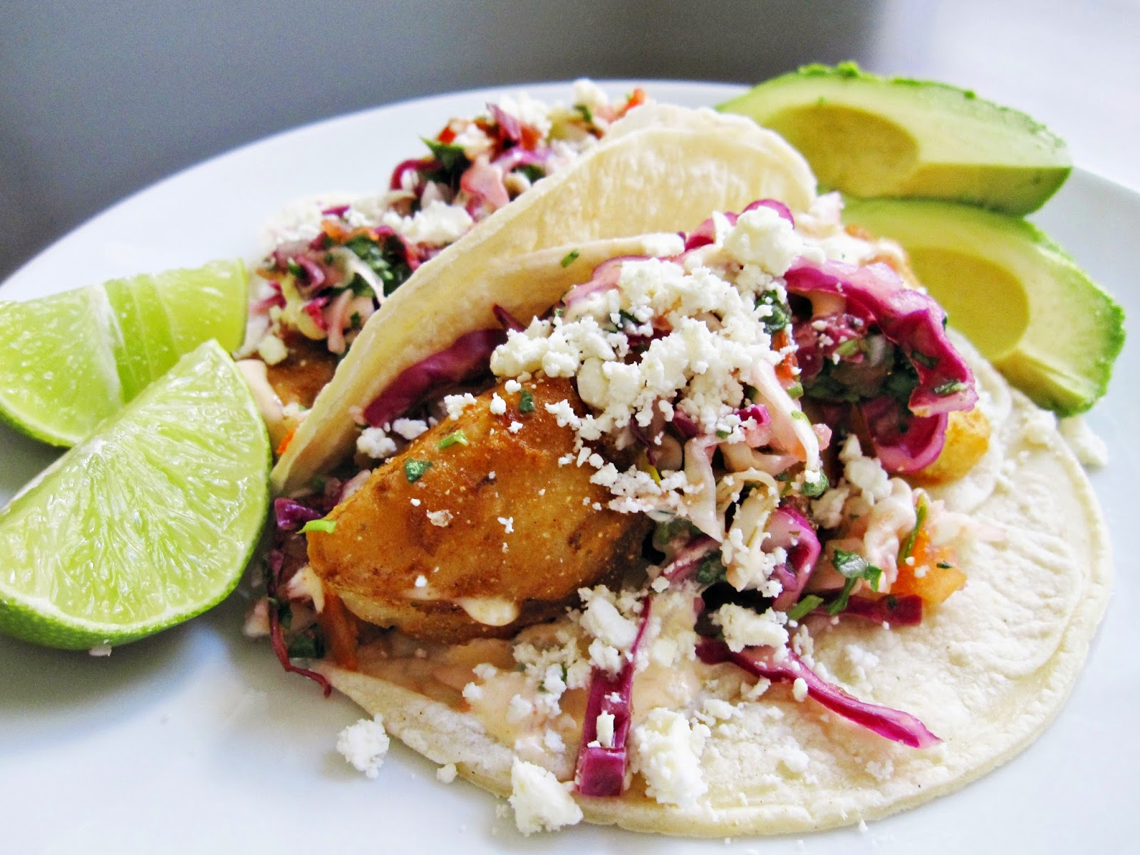 The yuca diaries baja fish tacos for Making fish tacos