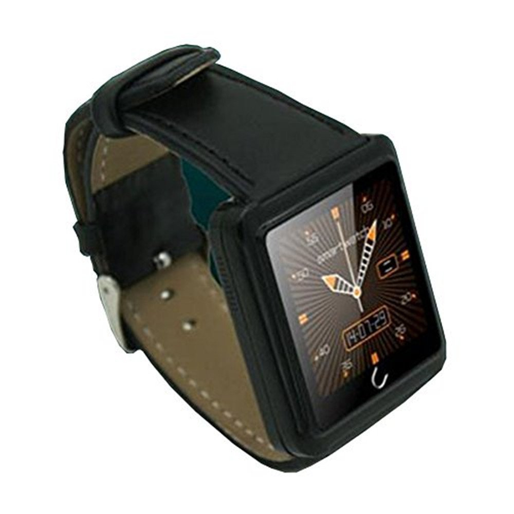 Esscoe New Arrival U10 U Watch Waterproof Anti-lost Bluetooth Smart Dial Bracelet Watch Android Watch ForiPhone/SamsungHTC Smartphones (Black)