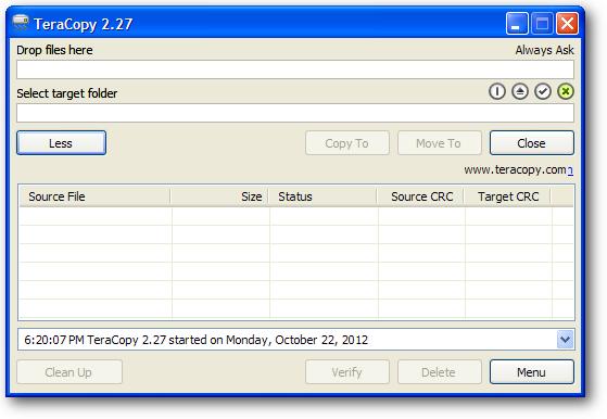 Software untuk mempercepat proses copy paste file yang besar
