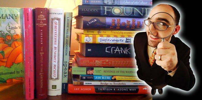 Bookshelf Detective   by  Kim Tomsic