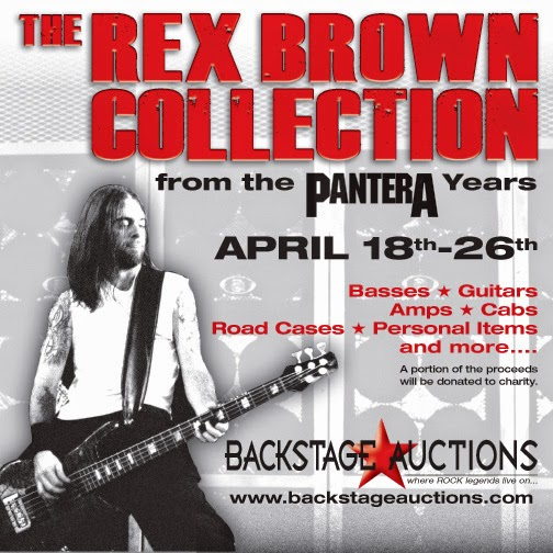 Auction Featuring Items from the Pantera Years
