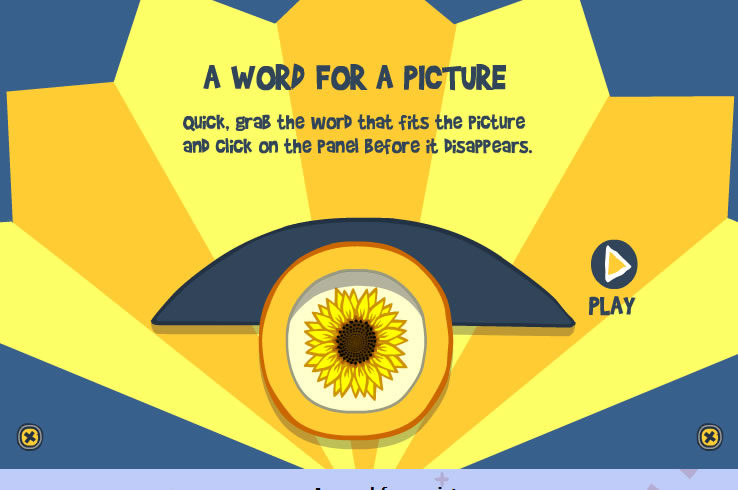 Kids Game : Picture Word Catch