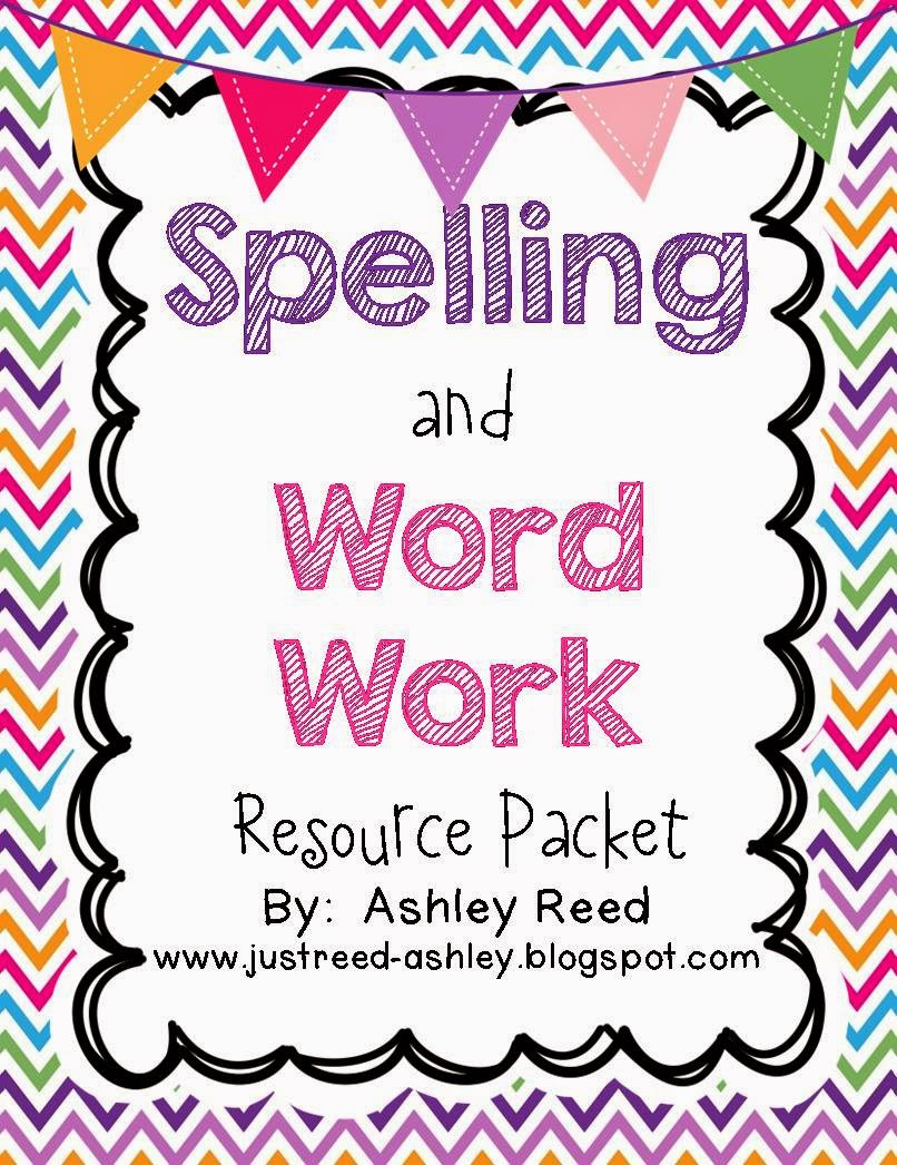 http://www.teacherspayteachers.com/Product/Spelling-and-Word-Work-Resource-Packet-824919