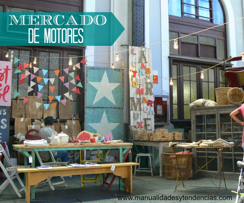 Mercado de motores de Madrid en el museo del Ferrocarril