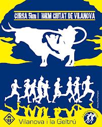 CURSA 5km i  10KM CIUTAT DE VILANOVA