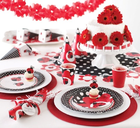 Decoración de fiestas infantiles de ladybug - Imagui
