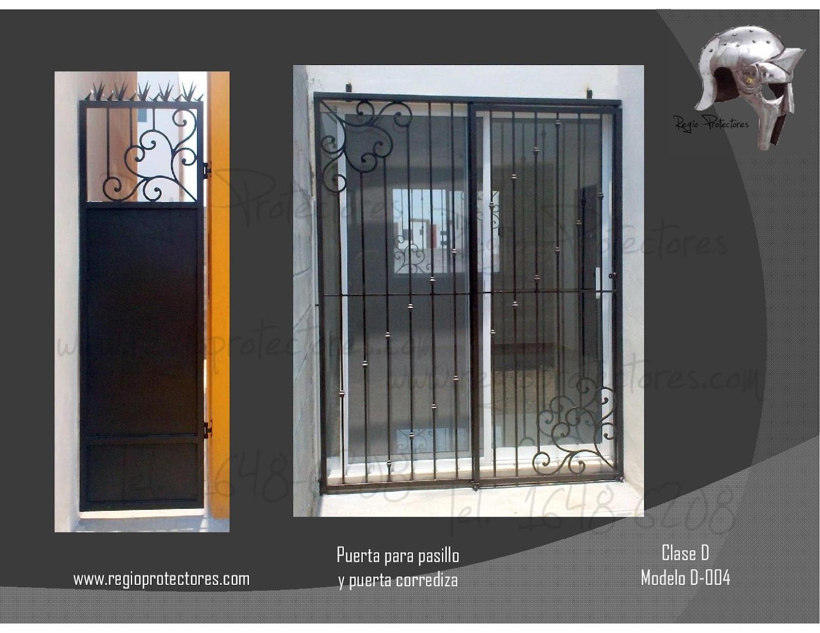 Protecciones para ventanas de herreria tattoo design bild - Fotos de puertas ...