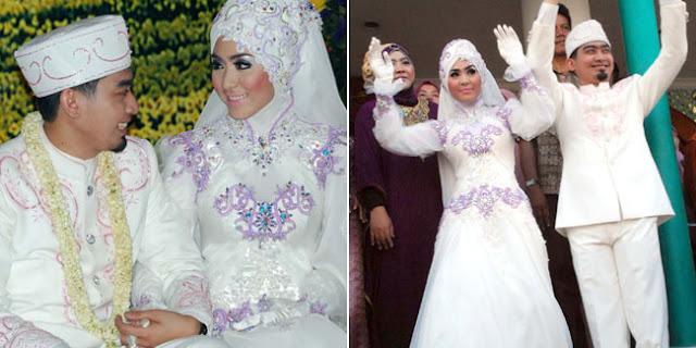 Foto inspirasi pernikahan selebriti yang berhijab - zaskia adya mecca