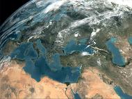 Εικόνα Δορυφόρου στο υπέρυθρο φάσμα