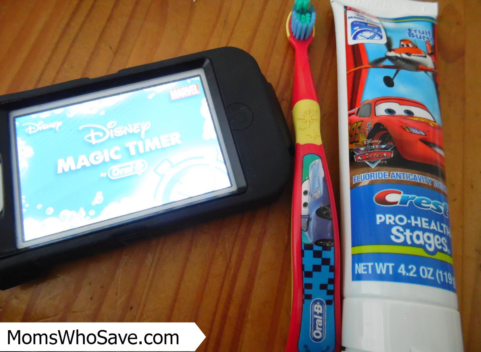 Free Oral-B Disney Timer App