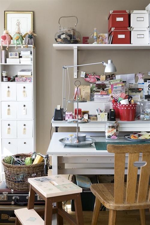 Lalole blog escritorios para trabajar bien a gusto - Mesa de trabajo ikea ...