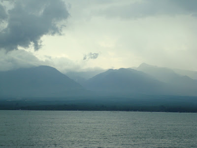 Mount Malindang view from the sea
