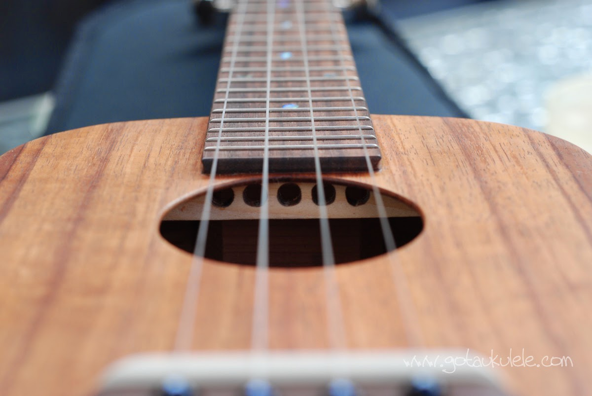 Solid wood ukulele