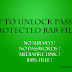 How To Extract Password Protected RAR Files Without Password ? (Free download link)