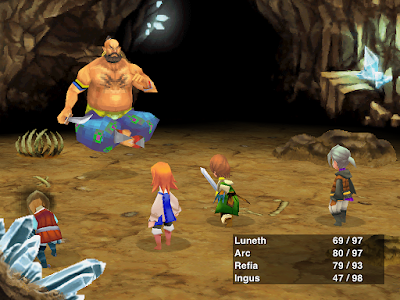 djin boss Leviatan Final Fantasy III PC