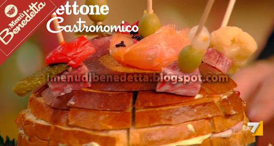 Panettone Gastronomico di Benedetta Parodi