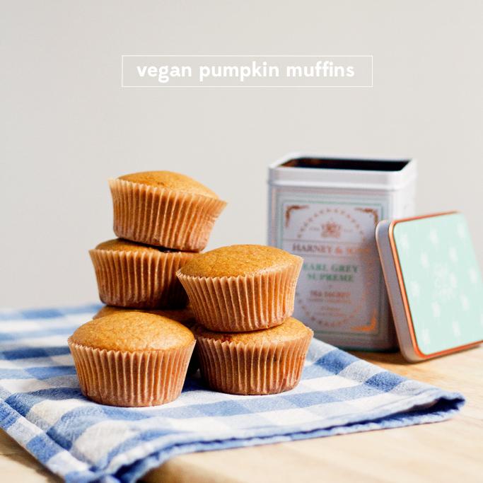Vegan pumpkin muffins | Thisfruitblogs.com