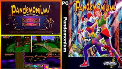 Jogo Pandemonium PC DVD Capa