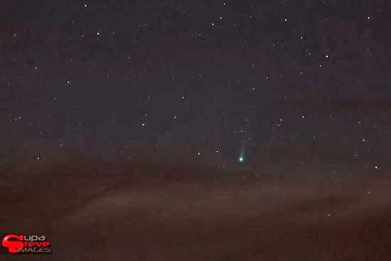 FOTO: Seperti Ini Kenampakan Komet ISON di Langit