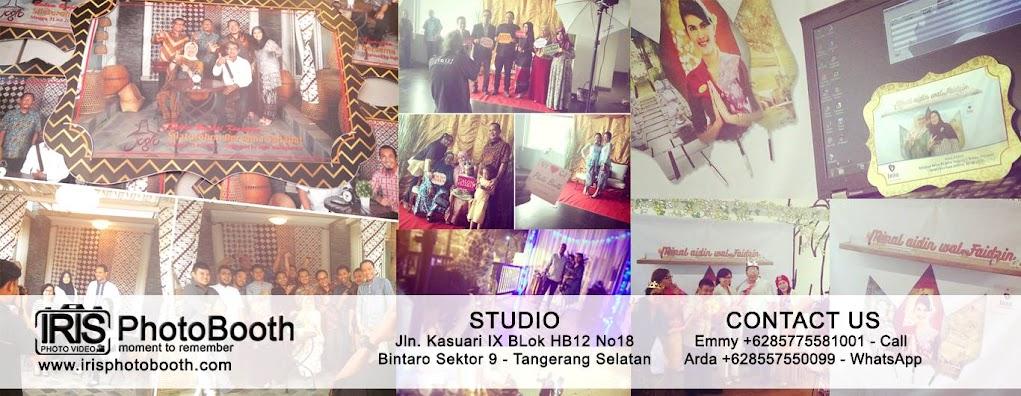 IRIS PhotoBooth Jasa Photo Booth Souvenir Jakarta Murah