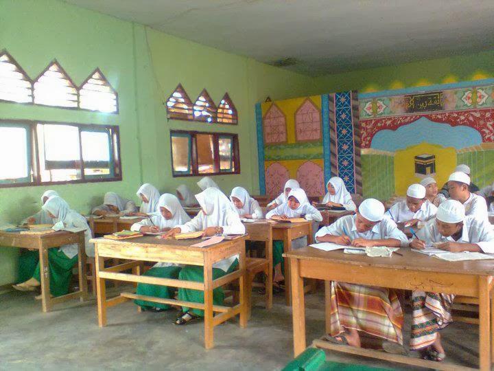 Keadaaan Santri di Pesantren Al Hamidiyah saat proses pembelajaran