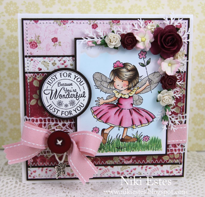 You Re Wonderful: Happy Crafter's Cottage: Because You're Wonderful