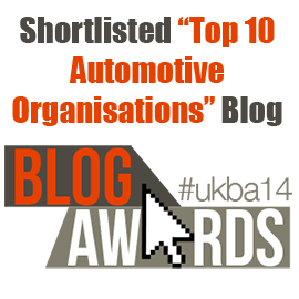 Shortlisted in the Top 10 UK Automotive Organisations Blogs
