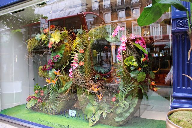 Escaparate Chelsea Flower Show Jardinería
