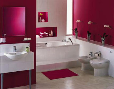 Simple Bathroom Decoration Color Idea2