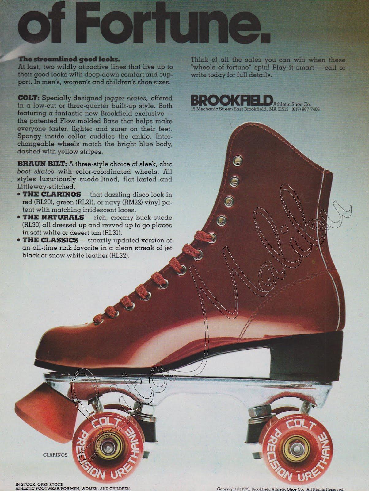 Roller skates vintage - Roller Skating Magazine October 1979
