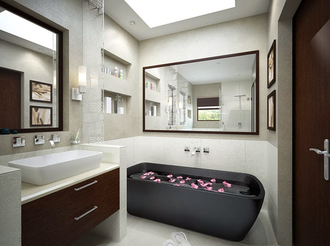 smal luxury bathroom design 2014 modern decor home decoration