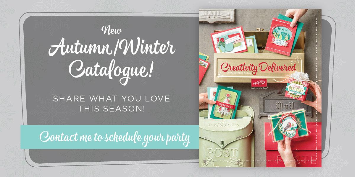 Autumn/Winter Catalogue Live!