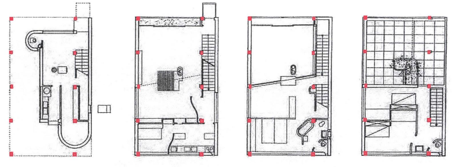 Evoluzione del dom ino è la maison citrohan prototipo del 1922 il nome