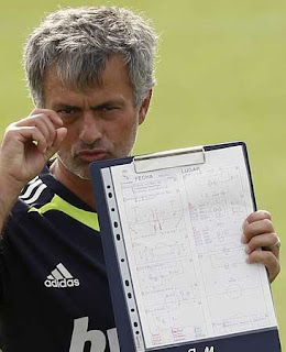 Mourinho is working in the Real Madrid season 2011-2012