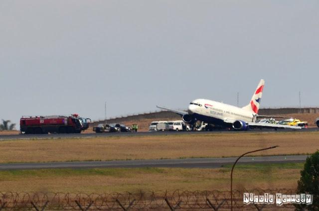 Aeroporto Johannesburg : Reportages trasporti brivido all aeroporto di