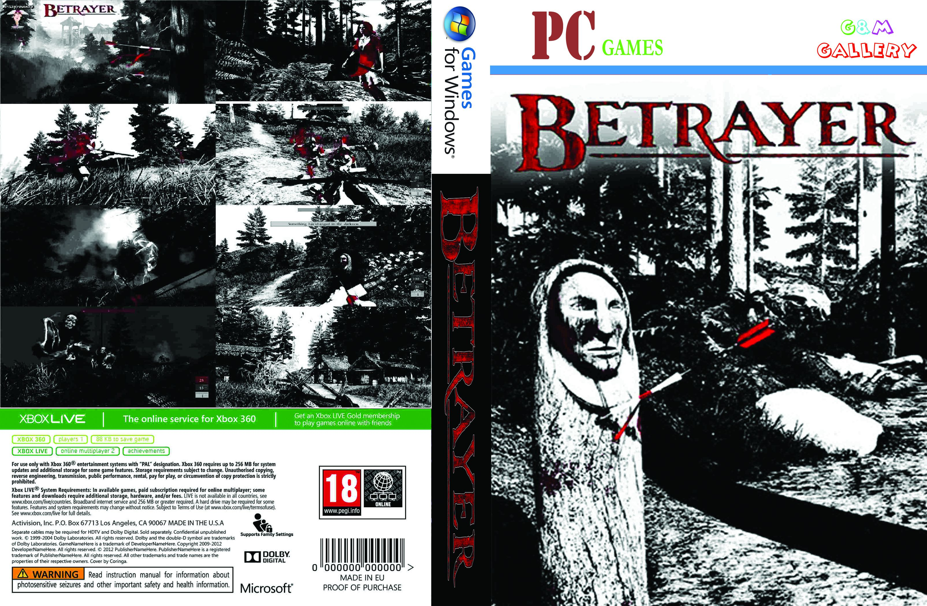Capa Betrayer PC