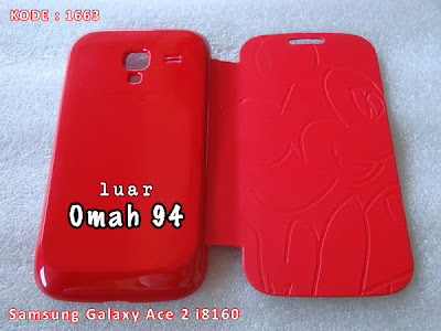 Jual Flip Cover Case Samsung Galaxy Ace 2 i8160 Motif Mickey Mouse