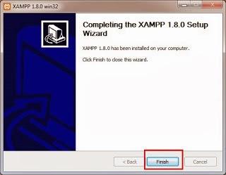 install+xampp+finiss - Cara Install Xampp Di Windows 7