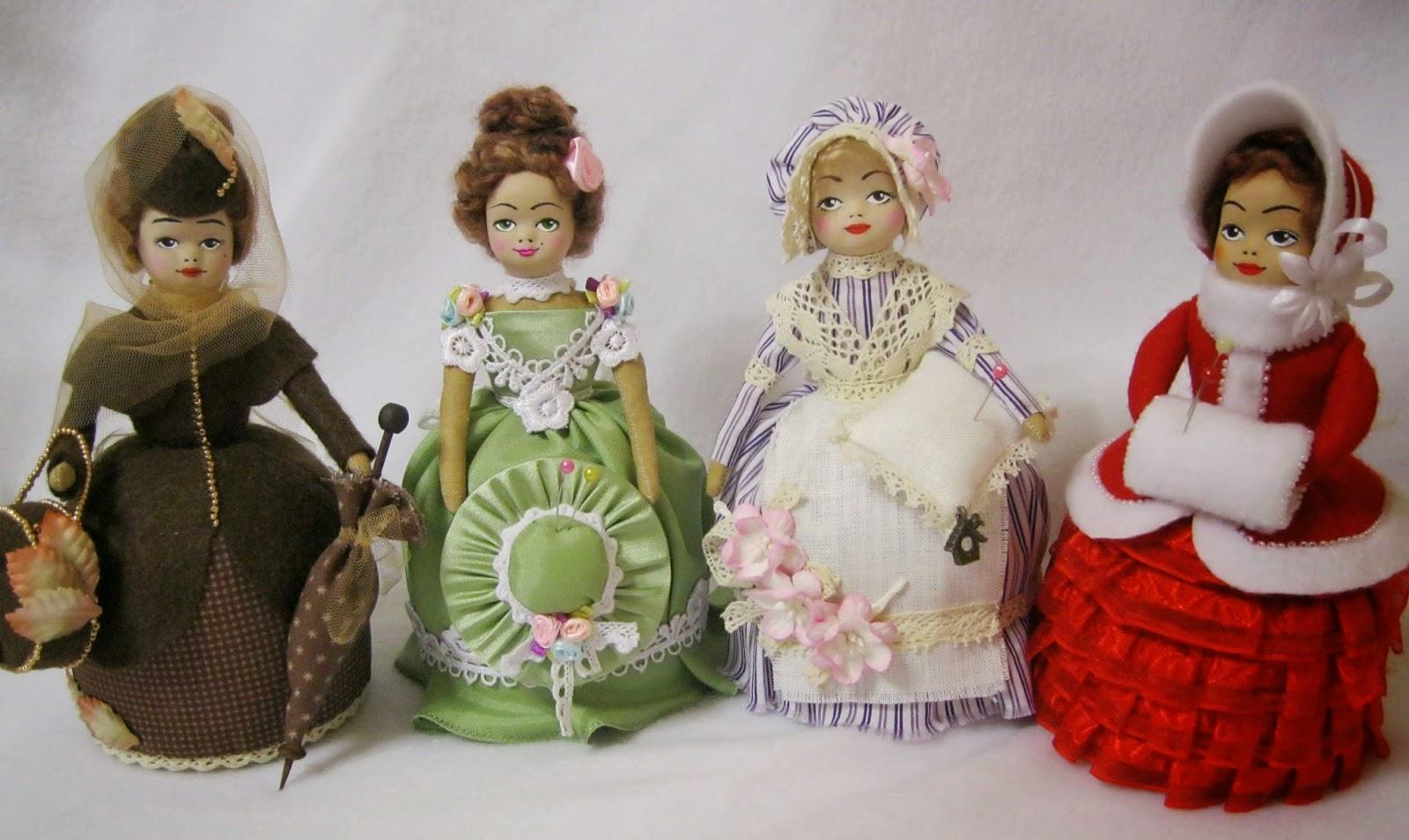 Куклы под старину своими руками
