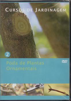 Curso de poda de plantas ornamentais em DVD