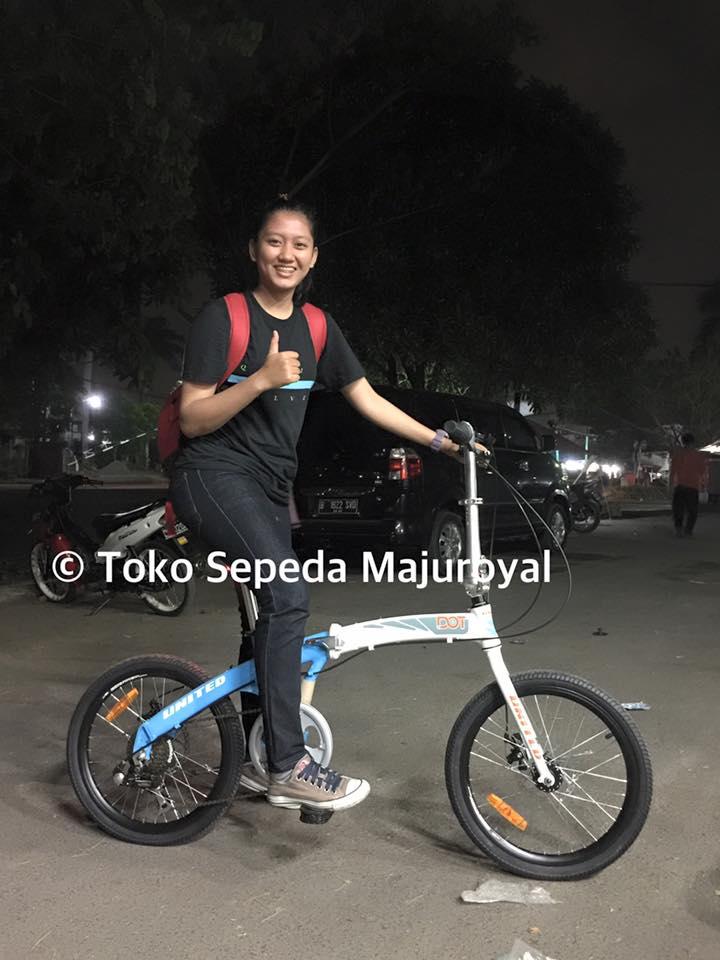 Toko Sepeda Online Majuroyal: Sepeda Lipat Polygon United