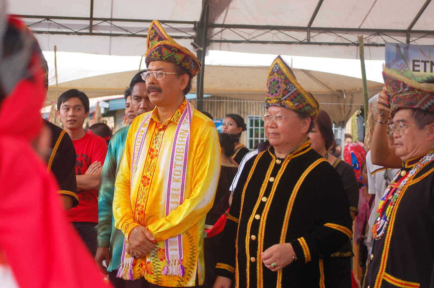 Natives Kadazan-Dusun-Murut 'goddess' for the Grand Final Harvest