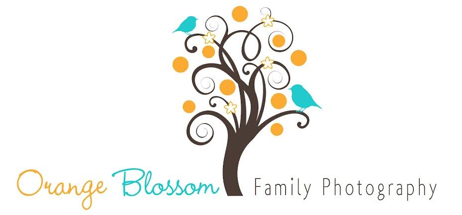 Orange Blossom Family Photography