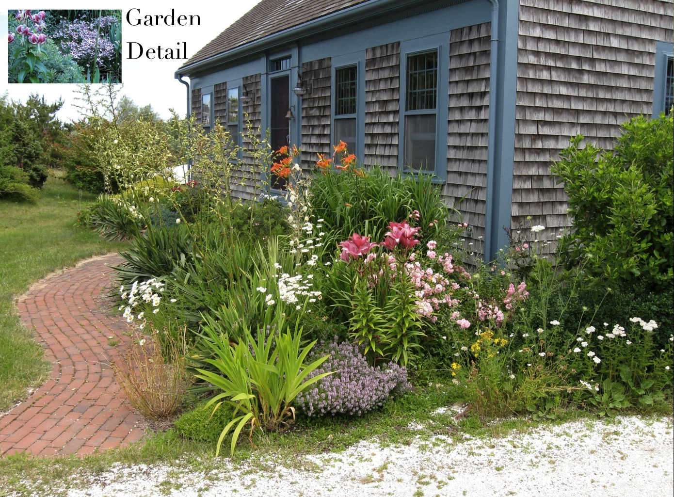 Cape cod historic homes blog gardening with native for Cottage garden design