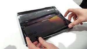 écran tablette brisé